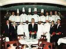 Food & Beverage Department on cruise ship