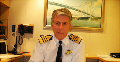Hotel Director on a Cruise ship