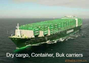 Jobs on dry cargo ships