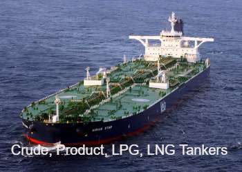 Oil and Gas Tanker Companies - JOB ON SHIP